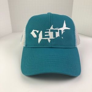 NEW Yeti Tarpon Trucker Hat in Teal